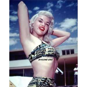Jayne Mansfield Bikini Picture Framed Hollywood Movie Star 8x10