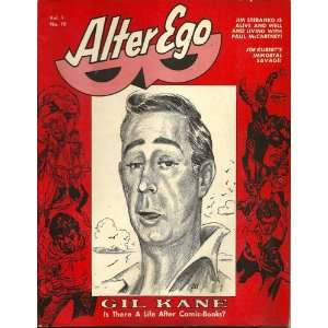 Alter Ego Vol. 1 #10: Roy (ed.) Thomas, Gil; Kubert, Joe Kane: Books