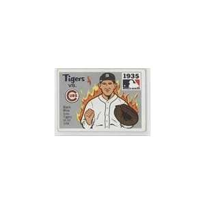 Series #33   1935 Tigers/Cubs/(Mickey Cochrane) Sports Collectibles