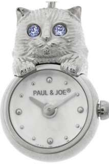Paul & Joe Brass cat watch pendant   65% Off Now at THE OUTNET