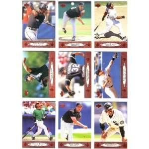 1996 Upper Deck Baseball Chicago White Sox Team Set