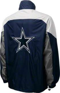 Dallas Cowboys Navy Reebok Performer Jacket