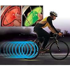 activar las luces de movimiento la rueda LED verde para bicicletas y