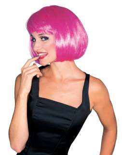 by Theme / Fairy / Hot Pink Bob Wig