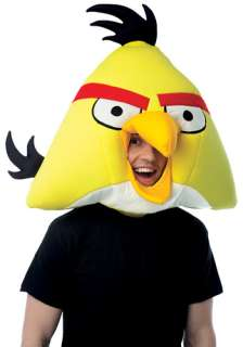 Angry Birds Yellow Fabric Mask   Yellow Angry Bird Costume Accessories