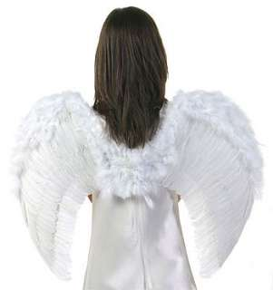 Feather Angel Wings   Adult, Kids Angel Halloween Costume Accessory