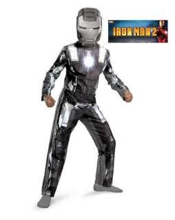 Boys Classic Iron Man 2 War Machine Costume