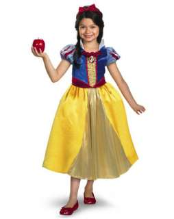 Girls Deluxe Shimmer Disney Snow White Costume  Wholesale Disney
