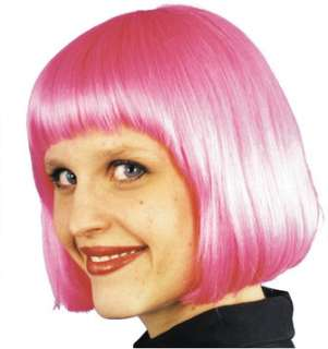 costumes in shopping cart cindy wig hot pink