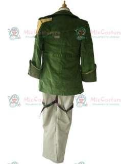 Final Fantasy XIII Sazh Katzroy Cosplay Costume  FF Sazh Katzroy