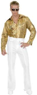 White Disco Pants Plus Adult   Includes one pair of white disco pants