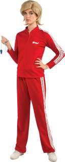 Glee   Sue Track Suit (Red) Adult Costume   Includes Jacket, pants