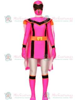 Power Rangers Spandex Lycra Super Hero Costume