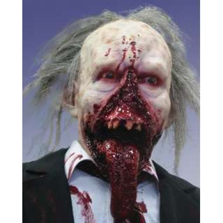 Adult Day of the Dead Zombie Dr. Tongue Mask   TV & Movie Character