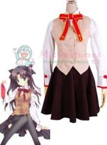 Fate Stay Night Homurabara Gakuen Girls Uniform Cosplay Costume For