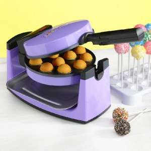 NEW Rotating Babycakes Cake Pops Maker Donut Hole Nonstick Bakeware