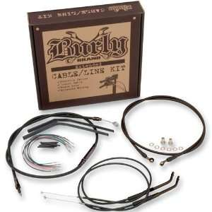 Cable/Brake Line Kit for 16 Height Apehanger Handlebars Automotive