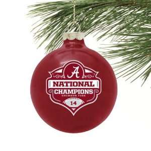 NCAA Alabama Crimson Tide 2011 BCS National Champions 14X