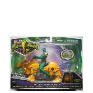 Power Ranger Yellow Zord Vehicle: Toys & Games