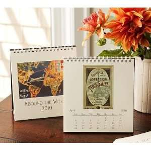 Pottery Barn Vintage Easel Desk Calendars  Kitchen