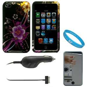 Piece Crystal Hard Case Cover for Apple iPod Touch 4th Generation (8GB