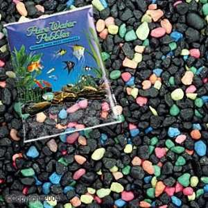 Gravel 5lb   Black Beauty (6pc) (Catalog Category Aquarium / Gravel