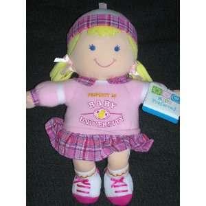 Baby Safe Pink Baby Girl University Plush Doll Lovey Toys & Games
