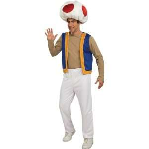 Lets Party By Rubies Costumes Super Mario Bros.   Toad Adult Costume