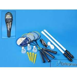 Deluxe 19 piece badminton set with carry bag NEW Sports