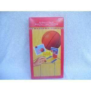 Basketball Make It Play It Valentine Cards for Kids