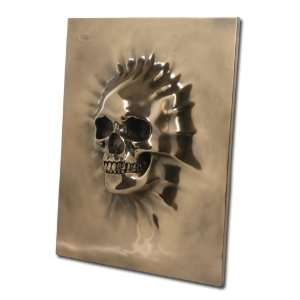 Large Skull Wall Plaque   Wall Decor   Magnificent