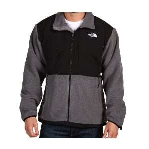 Mens North Face Denali Fleece Jacket Charcoal Grey Heather Size Large