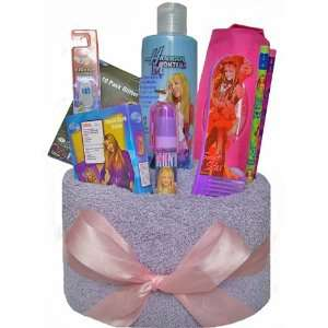: Hannah Montana Towel Cake for Kids   Valentines, Easter or Birthday