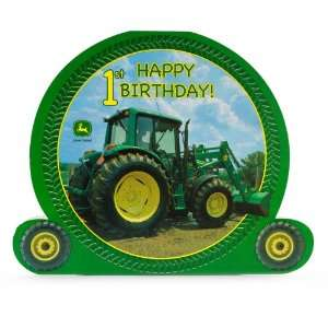 com John Deere 1st Birthday Centerpiece Party Supplies Toys & Games