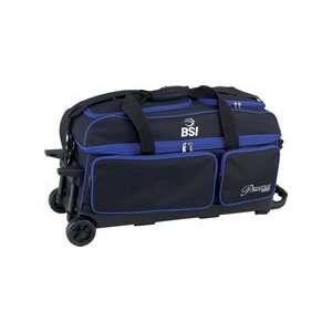 BSI Blue/Black 3 Ball Roller Bowling Bag