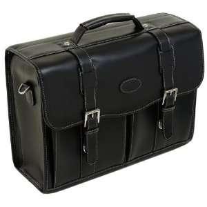ROLLANDI (Black) Leather Laptop Case Siamod Briefcases Electronics