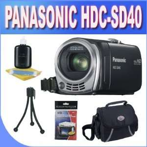 Panasonic HDC SD40K HD SD Card Camcorder Black with
