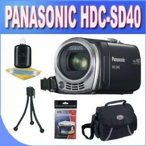 Panasonic HDC SD40K HD SD Card Camcorder Black with