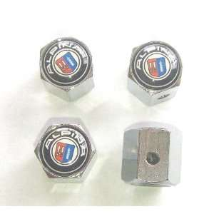 BMW Alpina Anti theft Car Wheel Tire Valve Stem Caps Automotive