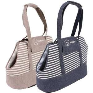 Outing Beige Stripe Pet Carrier For Dog or Cat Patio, Lawn & Garden