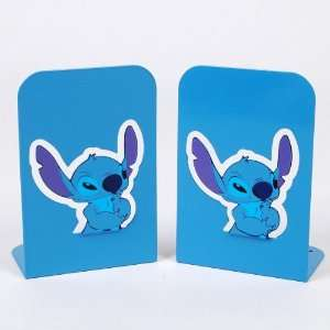 Lilo & Stitch Iron Book Ends Bookends Pair Blue  Home