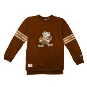 Cleveland Browns Youth Vintage Jersey Crewneck Long Sleeve