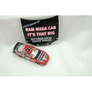 Car Winners Circle 1/64 Dodge With 1/24 Magnet Hood