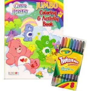 Bears® Coloring Book Set with Crayola Twistable Crayons Toys & Games