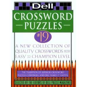 Dell Crossword Puzzles #19 (Dell Crossword Puzzles (Dell
