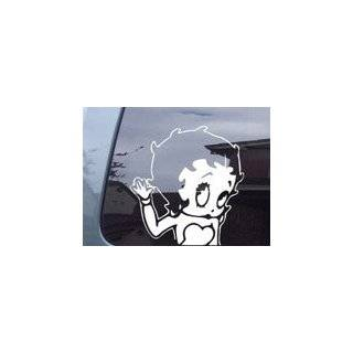 Betty Boop Skirt Cartoons Car Window Wall Laptop Decal