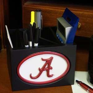 Tide Black Wooden Team Logo Desktop Organizer: Sports & Outdoors