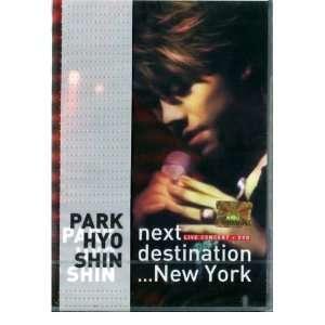 SHIN   Live Concert (CD+DVD) *NEW* (+3 BONUS) PARK HYO SHIN Music