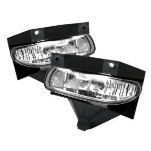 Ford Mustang 99 04 OEM Fog Lights (No Switch)   Chrome Automotive