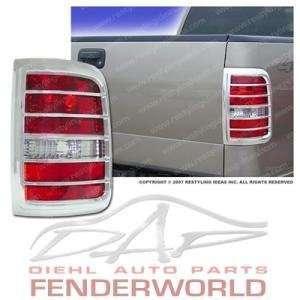 FORD F150 04 05 06 07 08 CHROME TAIL LIGHT COVER TRIM